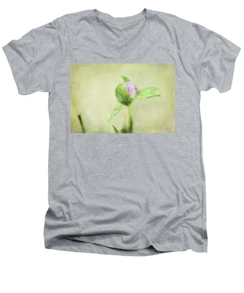 Clover Men's V-Neck T-Shirt