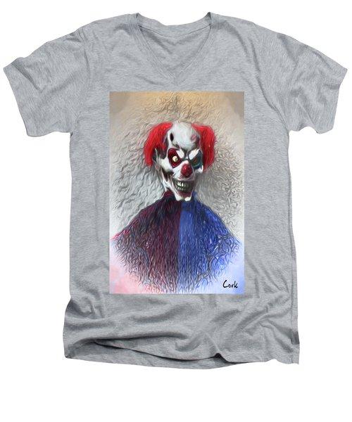 Clownitis Men's V-Neck T-Shirt
