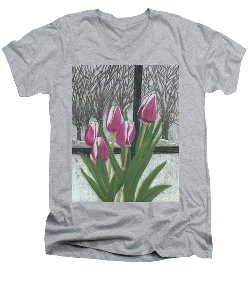 C'mon Spring Men's V-Neck T-Shirt