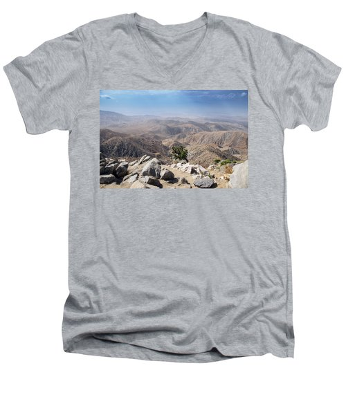 Coachella Valley Men's V-Neck T-Shirt