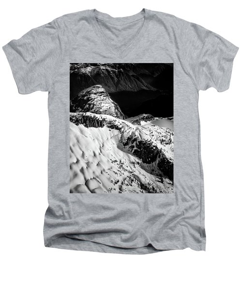 Coast Mountain Spring Men's V-Neck T-Shirt
