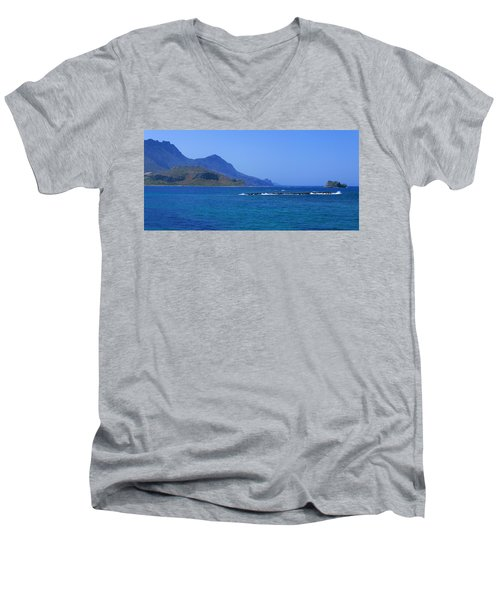 Coast Of Gramvousa Men's V-Neck T-Shirt
