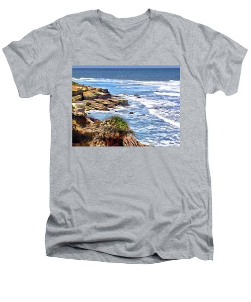 Coastal Dream Men's V-Neck T-Shirt