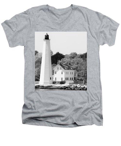 Coastal Lighthouse Men's V-Neck T-Shirt