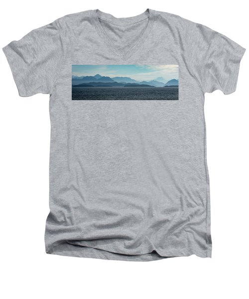 Coastal Mountains Men's V-Neck T-Shirt