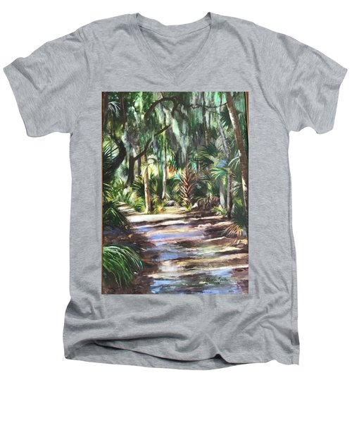 Coastal Path Men's V-Neck T-Shirt