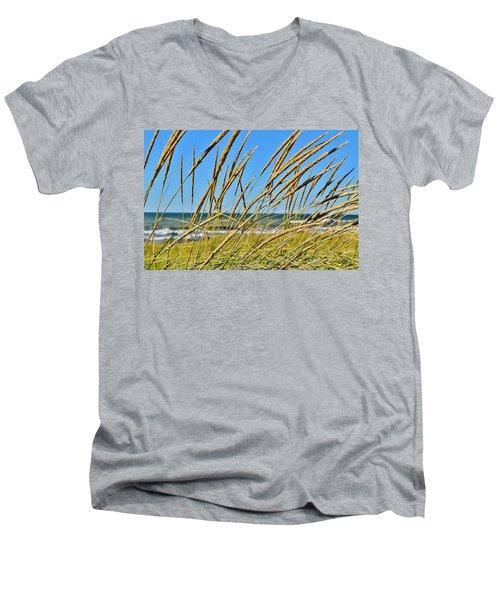 Coastal Relaxation Men's V-Neck T-Shirt