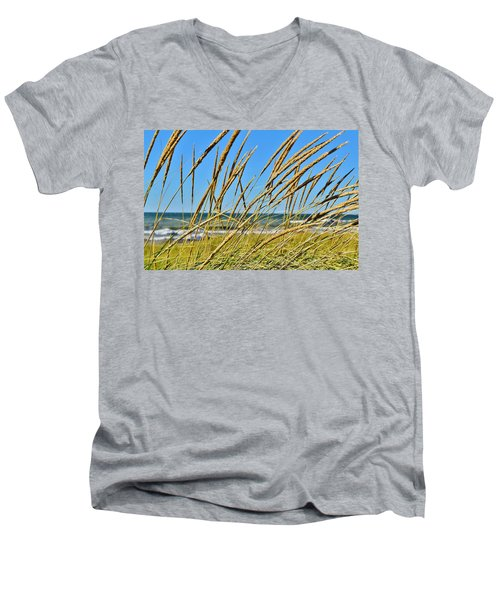 Coastal Relaxation Men's V-Neck T-Shirt
