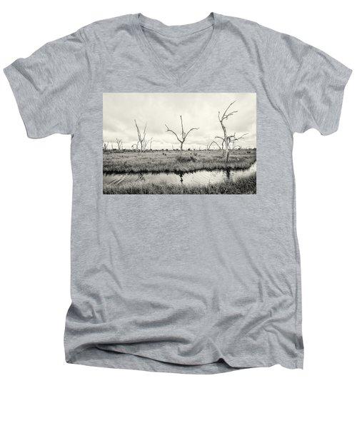 Coastal Skeletons Men's V-Neck T-Shirt