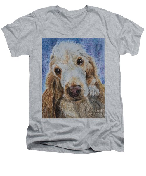 Cocker Spaniel Love Men's V-Neck T-Shirt