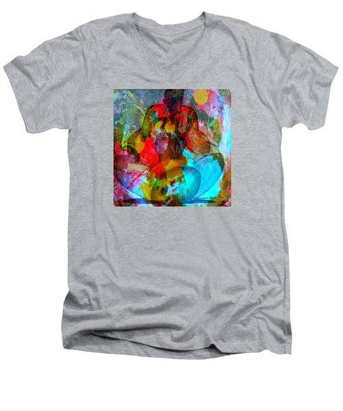 Cocktail Men's V-Neck T-Shirt