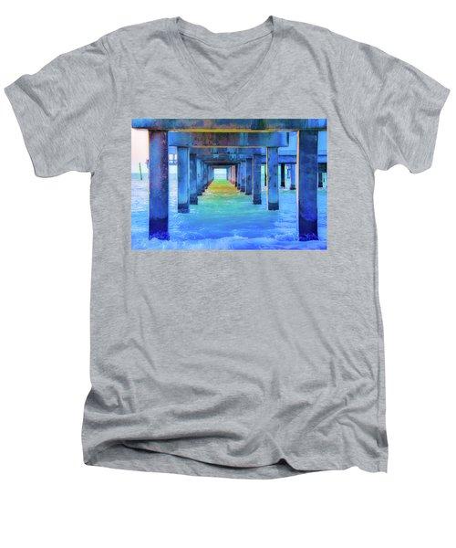 Cocoa Pier Men's V-Neck T-Shirt