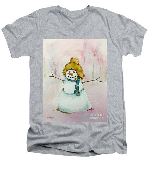 Cody's First Frosty Men's V-Neck T-Shirt