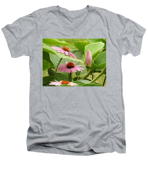 Coexisting Men's V-Neck T-Shirt