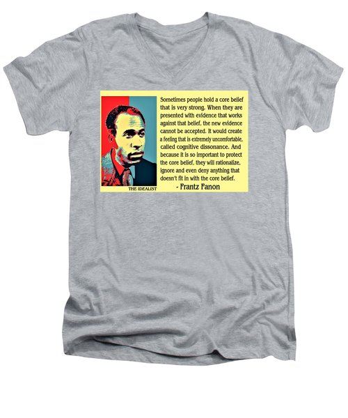 Cognitive Dissonance Frantz Fanon Men's V-Neck T-Shirt