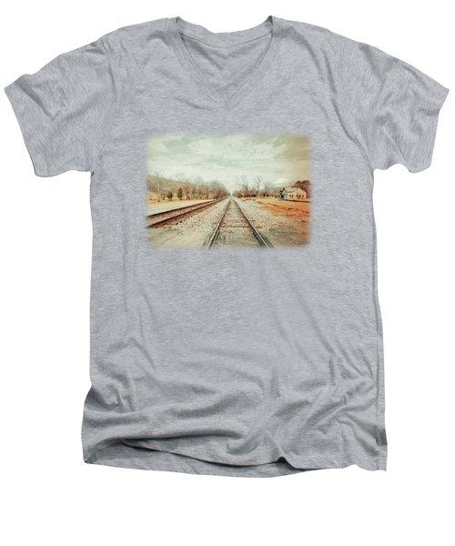 Col. Larmore's Link Men's V-Neck T-Shirt