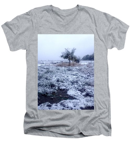 Cold Blue Men's V-Neck T-Shirt