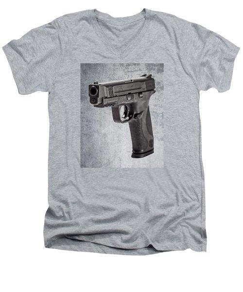 Cold, Blue Steel Men's V-Neck T-Shirt