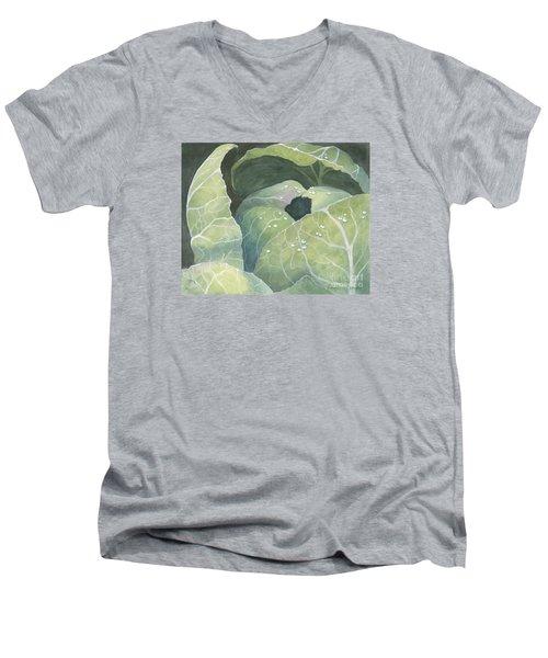 Cold Crop Men's V-Neck T-Shirt by Phyllis Howard