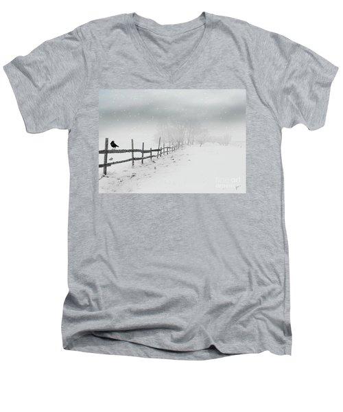 Cold Crow Men's V-Neck T-Shirt