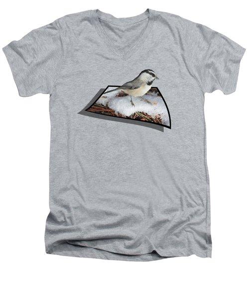 Cold Feet Men's V-Neck T-Shirt by Shane Bechler