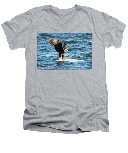 Cold Landing Men's V-Neck T-Shirt