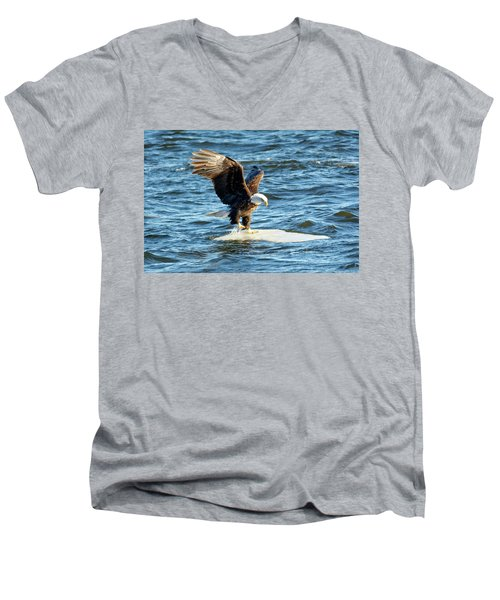 Cold Landing Men's V-Neck T-Shirt