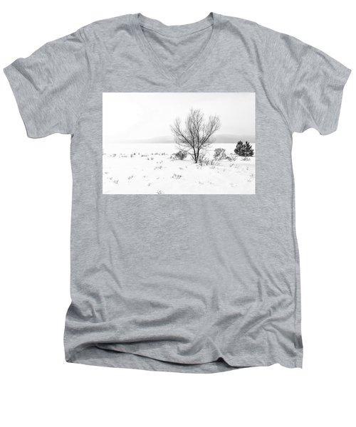 Cold Loneliness Men's V-Neck T-Shirt