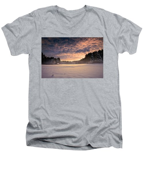 Cold Morning Men's V-Neck T-Shirt