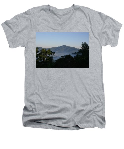 Cold Mountain North Carolina Men's V-Neck T-Shirt