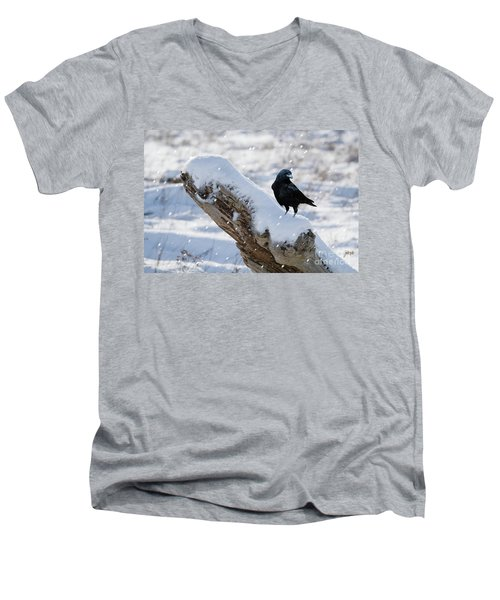 Cold Winter Men's V-Neck T-Shirt