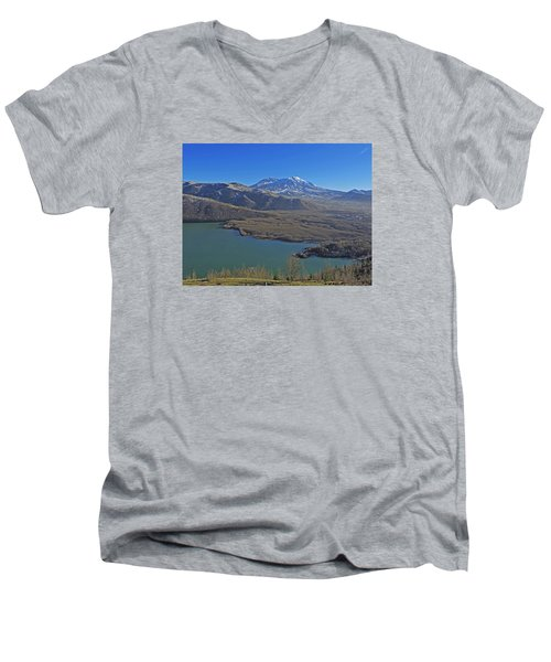 Coldwater Lake Men's V-Neck T-Shirt