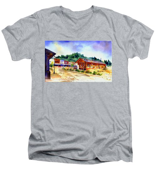 Colfax Rr Junction Men's V-Neck T-Shirt