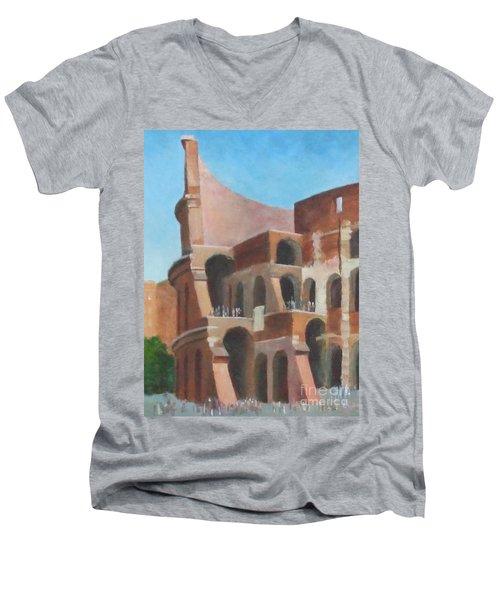 Coliseum Men's V-Neck T-Shirt