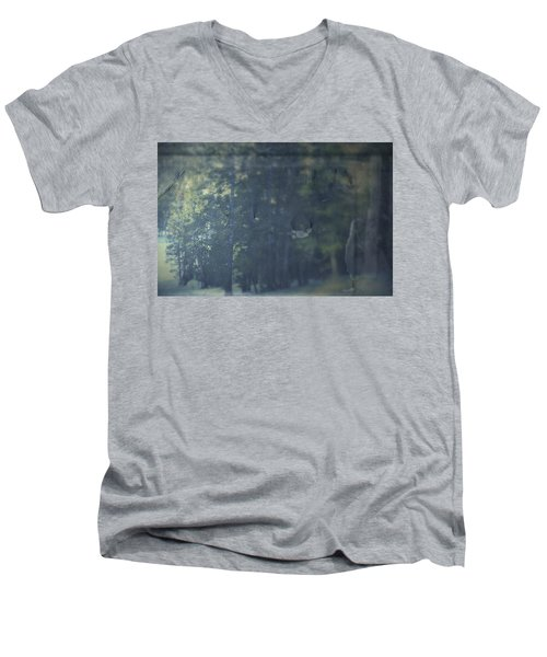 Men's V-Neck T-Shirt featuring the photograph Collect by Mark Ross