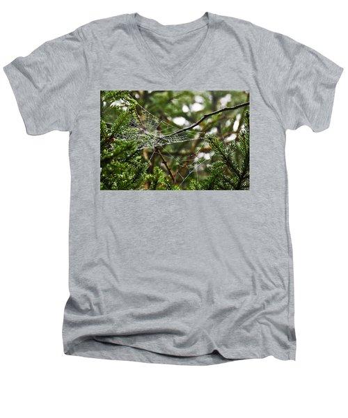 Collecting Raindrops Men's V-Neck T-Shirt