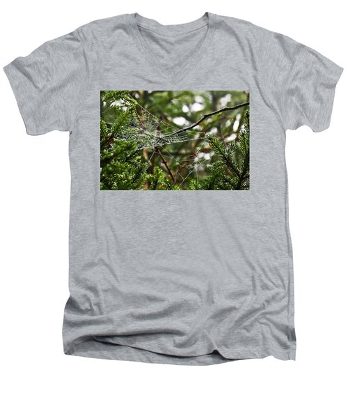 Collecting Raindrops Men's V-Neck T-Shirt