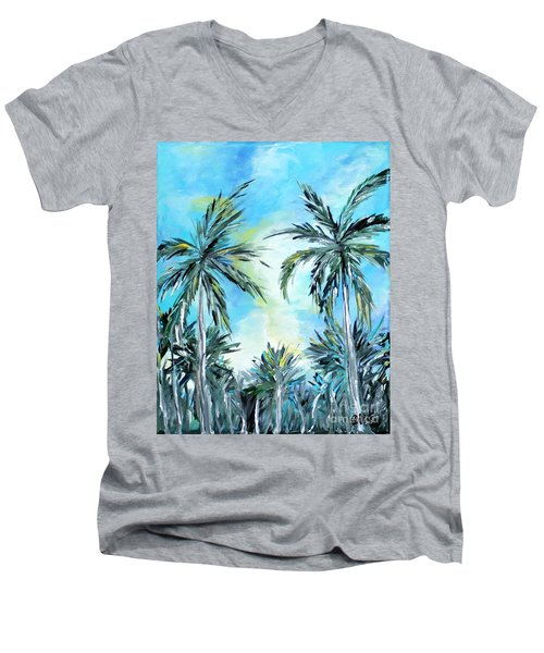 Collection. Art For Health And Life. Painting 1 Men's V-Neck T-Shirt