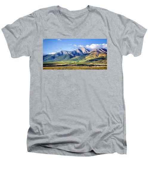 Collegiate Range Men's V-Neck T-Shirt