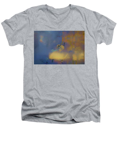Color Abstraction Lxviii Men's V-Neck T-Shirt