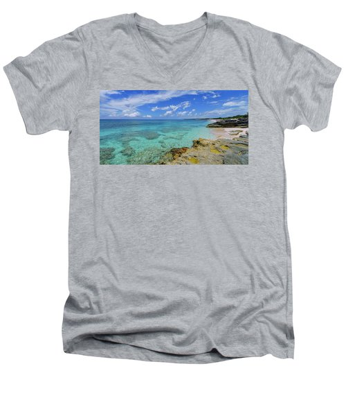 Color And Texture Men's V-Neck T-Shirt