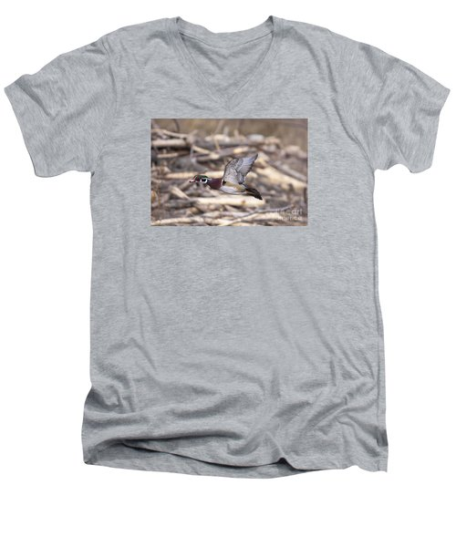 Color Flight II Men's V-Neck T-Shirt
