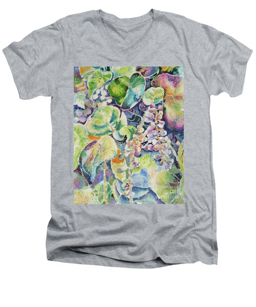 Color In Motion  Men's V-Neck T-Shirt
