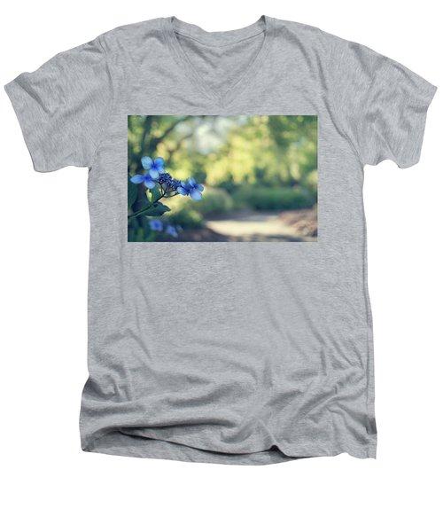 Color Me Blue Men's V-Neck T-Shirt