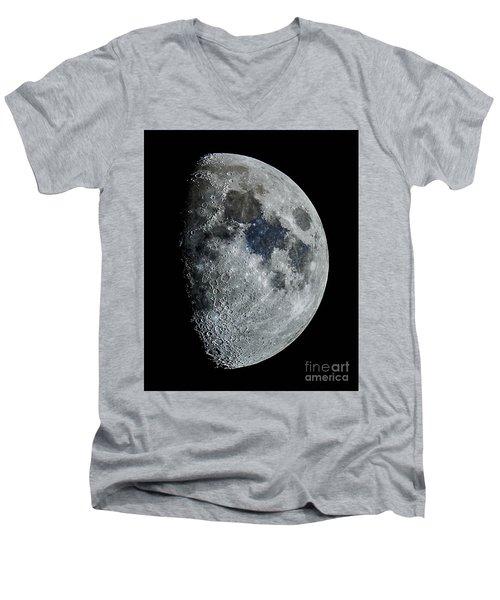 Color Moon Men's V-Neck T-Shirt