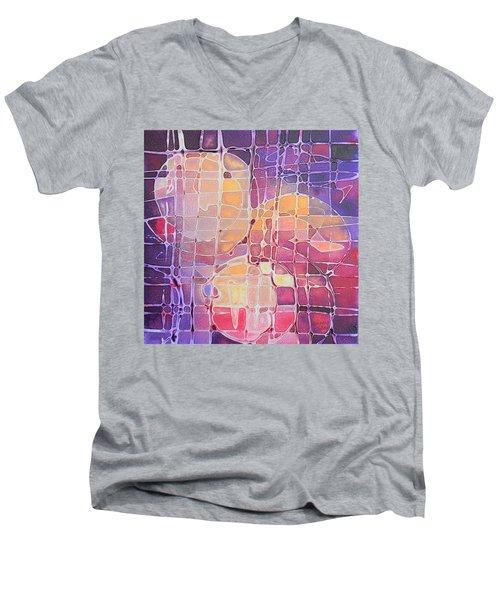 Color Odyssey Men's V-Neck T-Shirt
