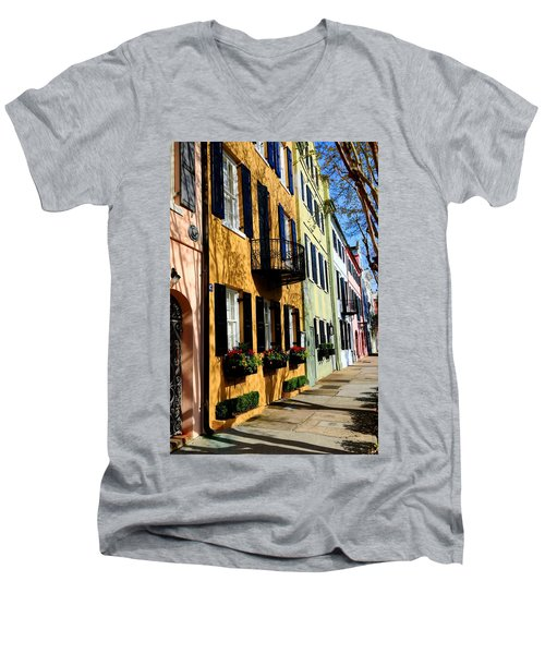 Color Of Charleston Men's V-Neck T-Shirt