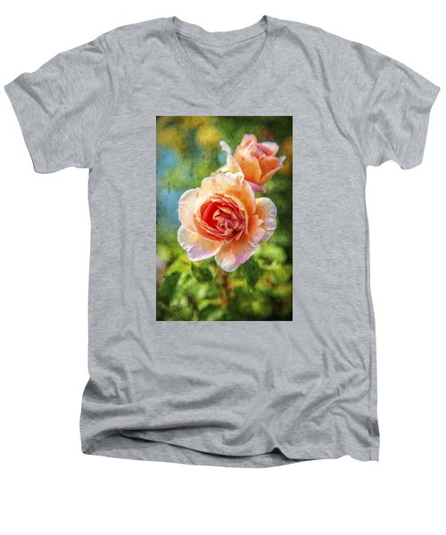 Color Of The Rose Men's V-Neck T-Shirt
