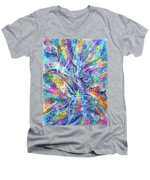 Color Play 1 Men's V-Neck T-Shirt