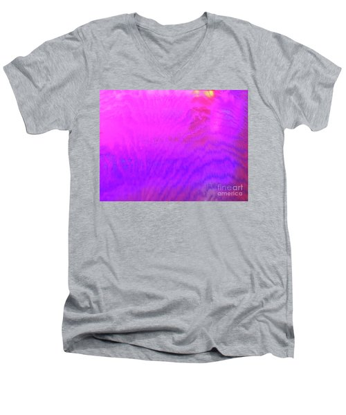 Color Surge Men's V-Neck T-Shirt